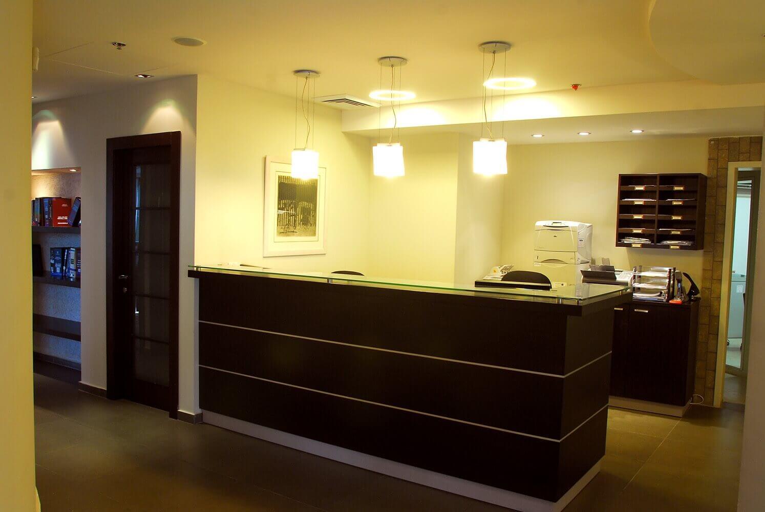 פרויקט עיצוב משרד ביתי