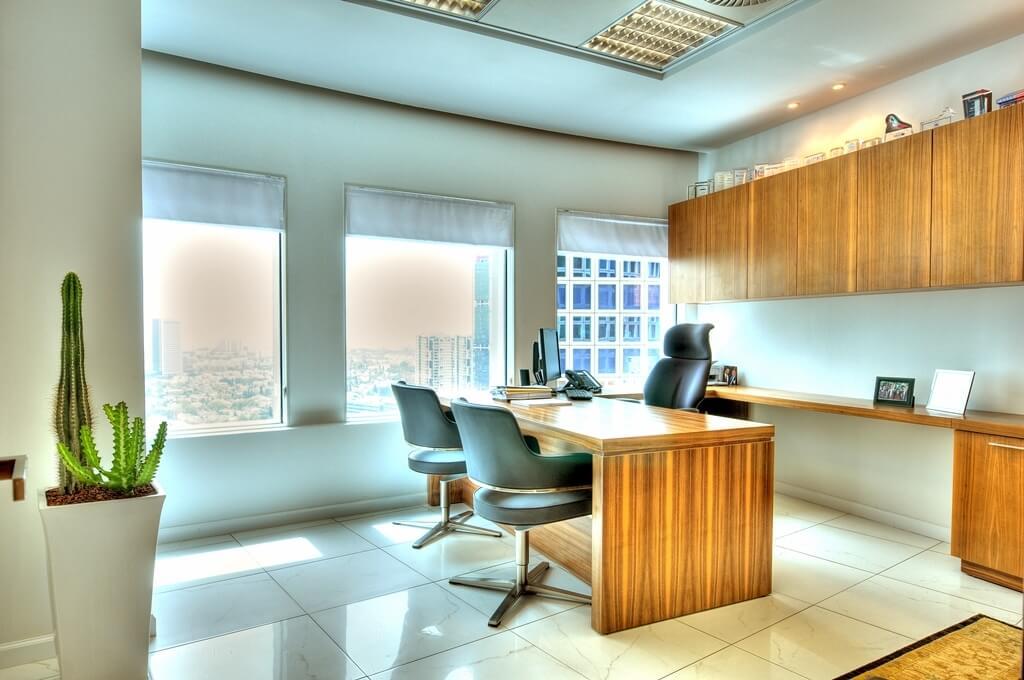 עיצוב משרד יוקרתי
