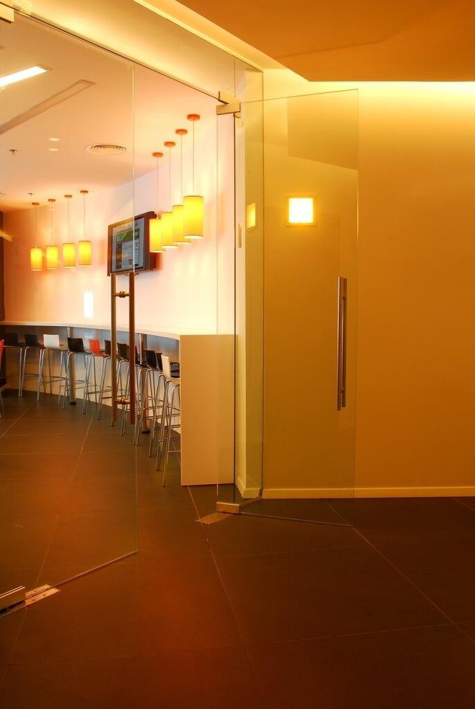 עיצוב פנים משרדי חברת היי טק