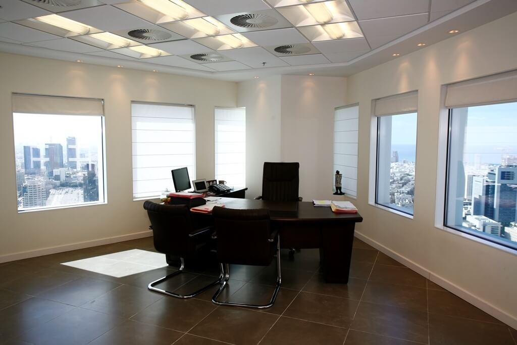 עיצוב פני המשרד