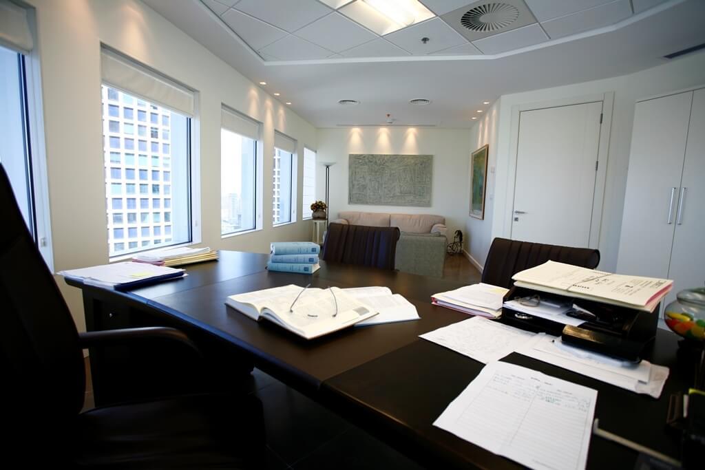 פרוייקט עיצוב משרד