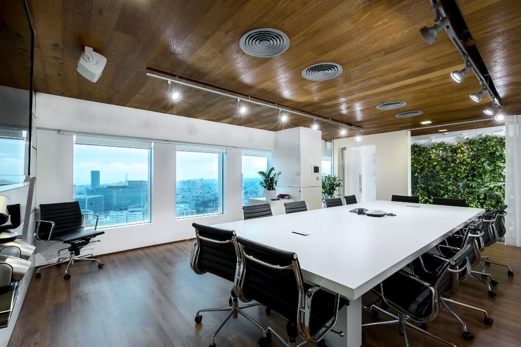 עיצוב מודרני למשרד